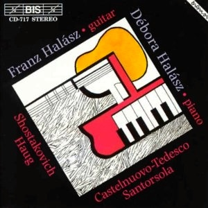 Castelnuovo-Tedesco-Fantasia for guitar and piano; Dmitri Schostakovich -19 Preludes from op.34;Guido Santorsola-Sonata a duo n.3 for guitar and piano;Hans Haug-Fantasia for guitar and piano